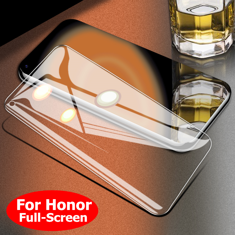 Protective Tempered Glass For HUAWEI P30 Honor V20 V10 10 9i 9 8 8X 7 7C HD Full Screen Protector Glass For HUAWEI Honor Phone