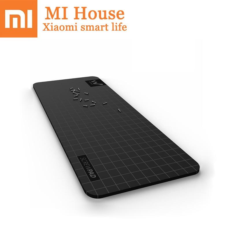 Xiaomi Wowstick Wowpad Magnetic Screwpad Screw Postion Memory Plate Mat For 1P+ 1F+ Plus Wowcase Nozle Kits Optional Mijia Plate