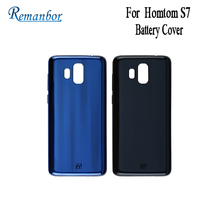 Remanbor For Homtom S7 Battery Cover Protective Battery Back Cover Fit Replacement 5.5 For Homtom S7 Mobile Phone Accessories