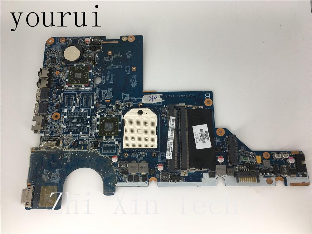 Yourui For HP CQ42 CQ62 G42 G62 CQ56 G56 Laptop Motherboard 592808-001 DDR3 DA0AX2MB6E1 Fully Test Free Shipping