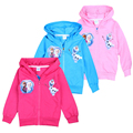 2016 Kids Girl Long Sleeve Sweater Hooded Jackets + Long Pants Clothes Suits Explosion Girls Sweater Coat Zipper Clothing