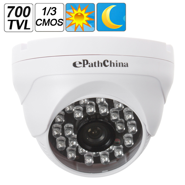 800TVL 1/3 CMOS CCTV Night Vision Color Dome Camera Home Security Surveillance with 24 IR LEDs дневной увлажняющий крем гель для мужчин moisture gel 75 мл