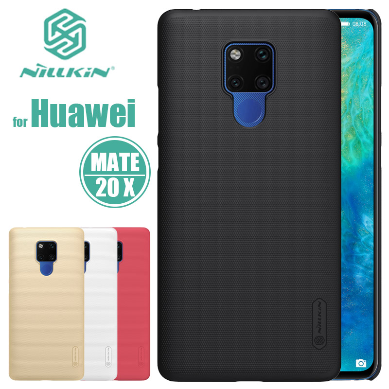 Huawei Mate 20 X Case Nillkin Super Frosted Shield Mate20 X Hard PC Back Cover Case for Huawei Mate 20X Nilkin Matte Phone Case