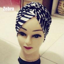 Hot Sale Premium Unique Indian Style Stretchable Turban Chemo Headwrap Hair Head Wrap Cap Cover