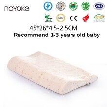 noyoke nios nio beb de dibujos animados almohada de espuma de memoria de seguridad y salud almohada de la cama de aos de edad del