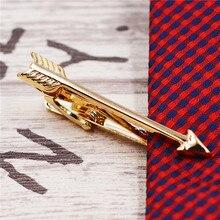 arrow tie clips gold silver color Men Jewelry High Quality Wedding Tie Clips for Men Jewelry