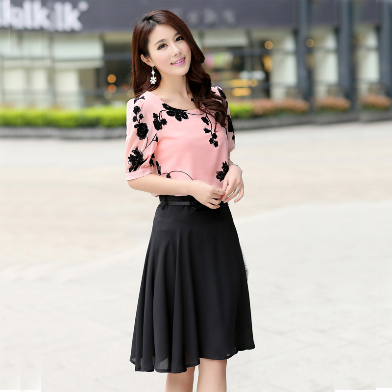 Aliexpress.com : Buy 2016 new summer dress Pleated Chiffon Dress ...