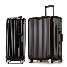 20 22 24 26 Inch Luggage Suitcases With Wheels Road  Aluminum Frame Trolley Case Brand ABS PC Travel Luggage TS Lock Suitcase