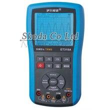 Elmet310a 10M 50Msps oscilloscopio digitale portatile oscilloscopio ScopeMeter TRMS multimetro misure automatiche