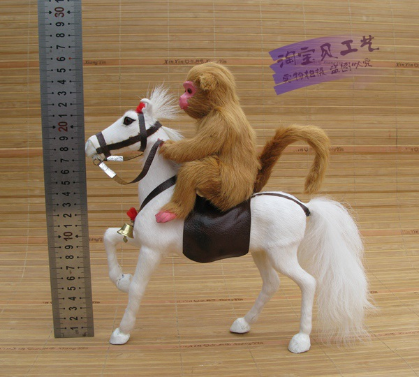 new simulation white horse toy polyethylene&furs horse and monkey model doll gift about 23x7x26cm 1897 simulation horse large 36x34cm hard model polyethylene