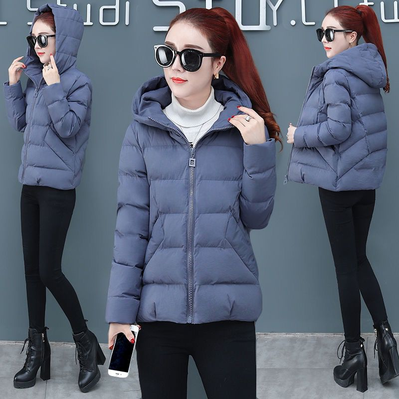 Jackets Coats Winter Autumn Plus-Size Women And Casual Solid Slim 3XL Zipper Small