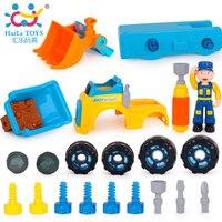 Дети Мальчики Дети грузовик Строительство Модель автомобиля игрушки грузовик инженерных машин экскаватор электрический игрушка самосвал