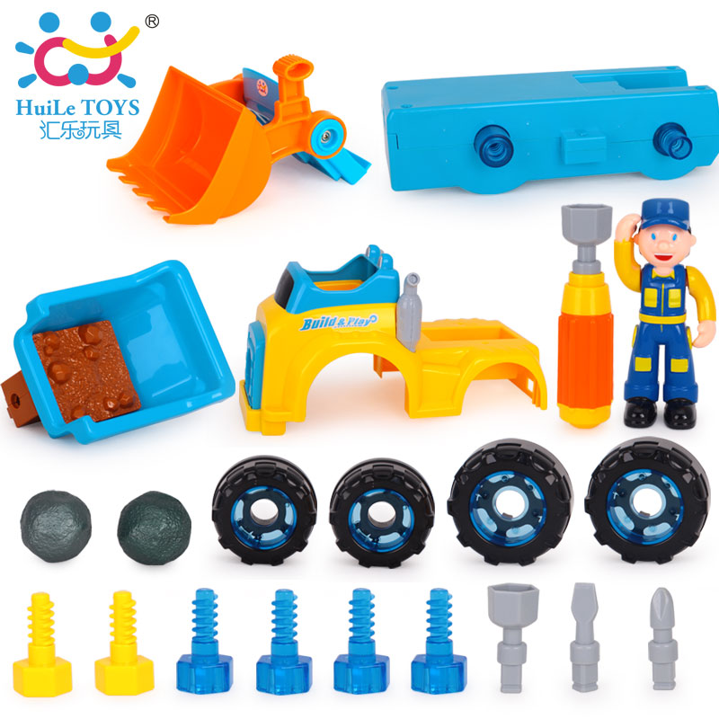 Construction Vehicle Toys For Boys : Kids boys children truck construction vehicle car model