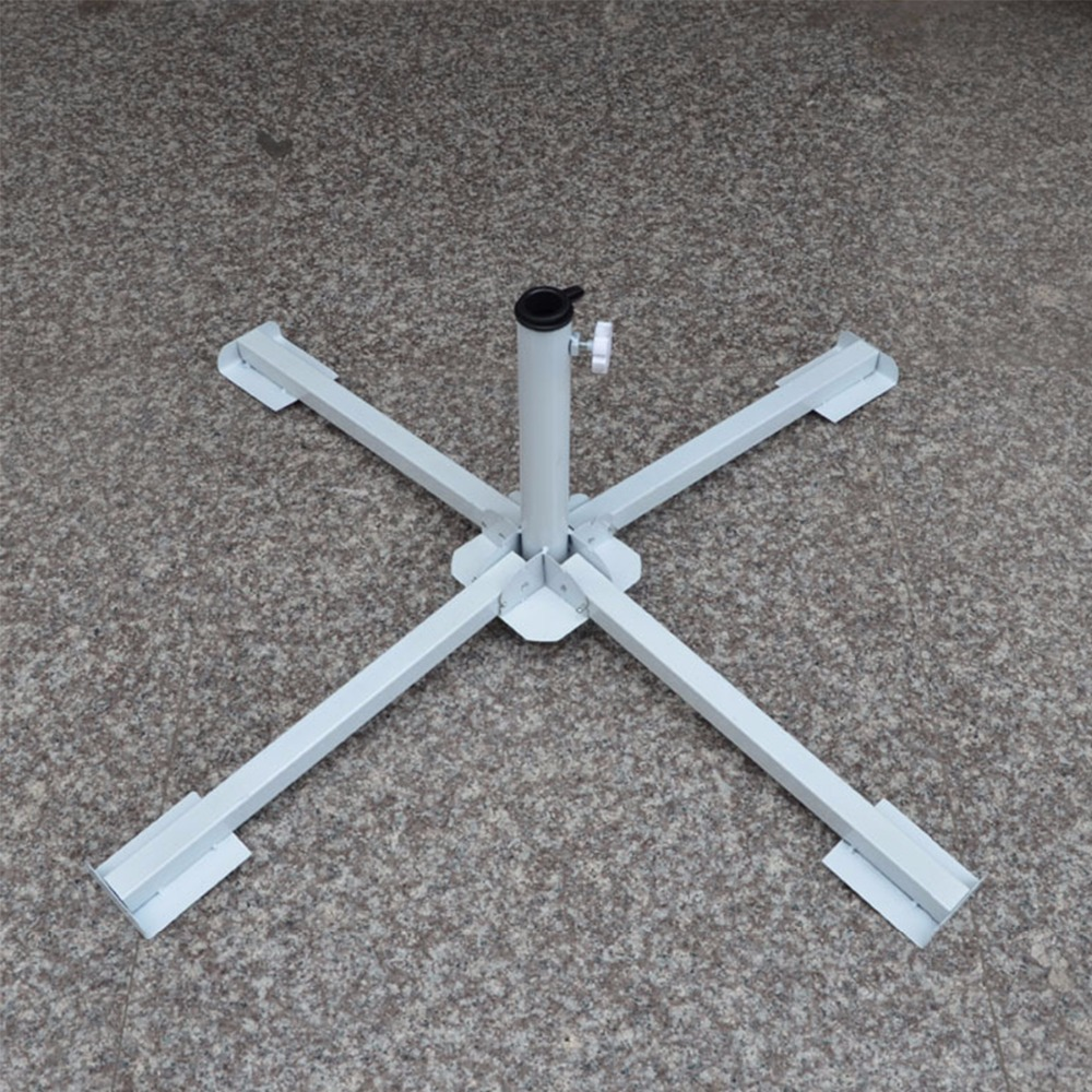 4 Feet Folding Adjustable Beach Garden Patio Sun Umbrella Holder Light Ground Bracket Steady Stand Under Table Summer Outdoor стоимость