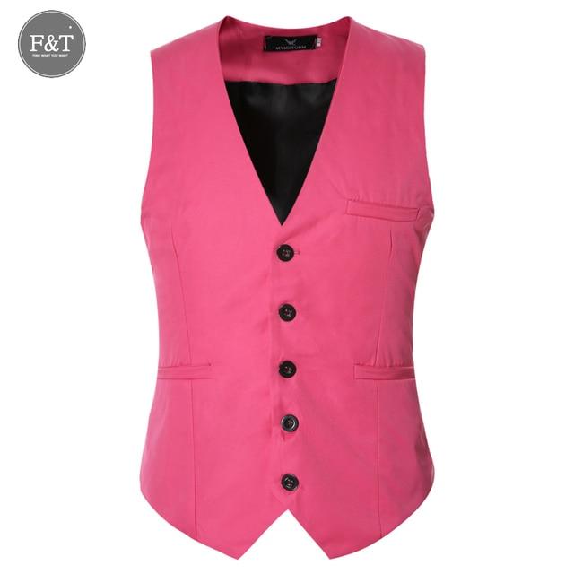 [Asian Size] New Formal Men Suit Vest Waistcoat Business Wedding Slim Dress Blazer Vests Men Work Slim Fit Cotton Waistcoat 6XL