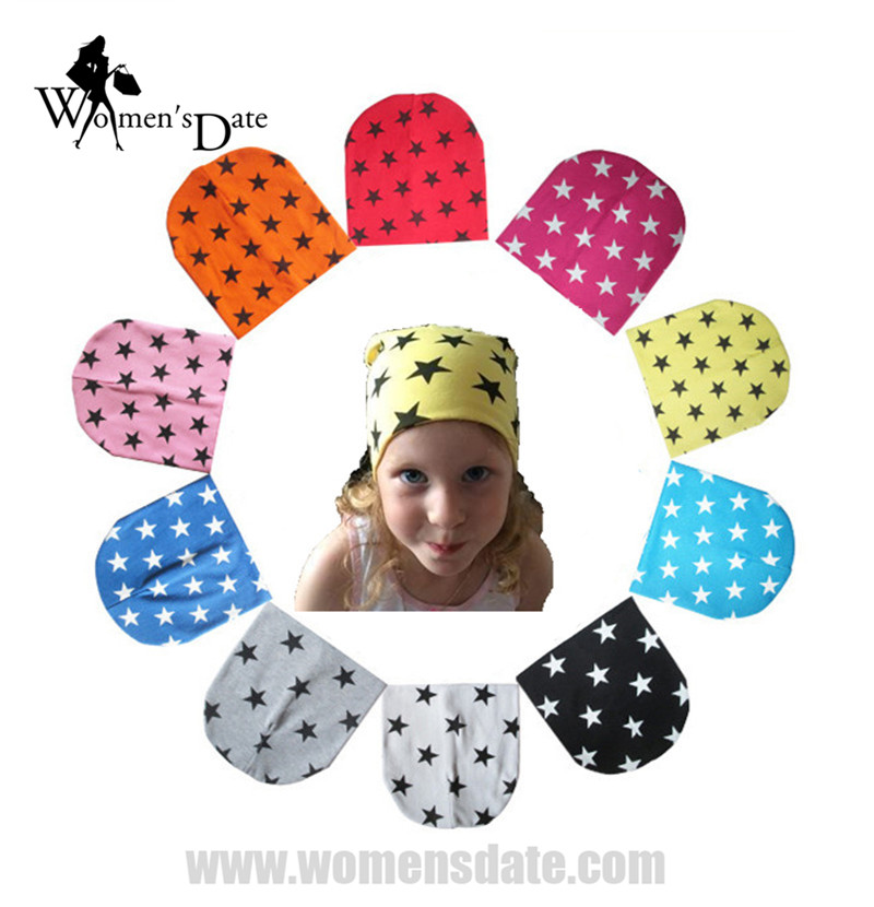 WomensDate 1 Pcs Winter Autumn Crochet Baby Hat Girl Boy Cap Beanie Star Infant Cotton Knitted Toddlers New Children 10 Colors new baby winter crochet hat solid toddler children infant woolen cap unisex for boy and girl free shipping