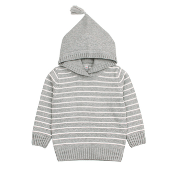 Toddler Unisex Knitted Sweater Long Sleeve - 100% Cotton
