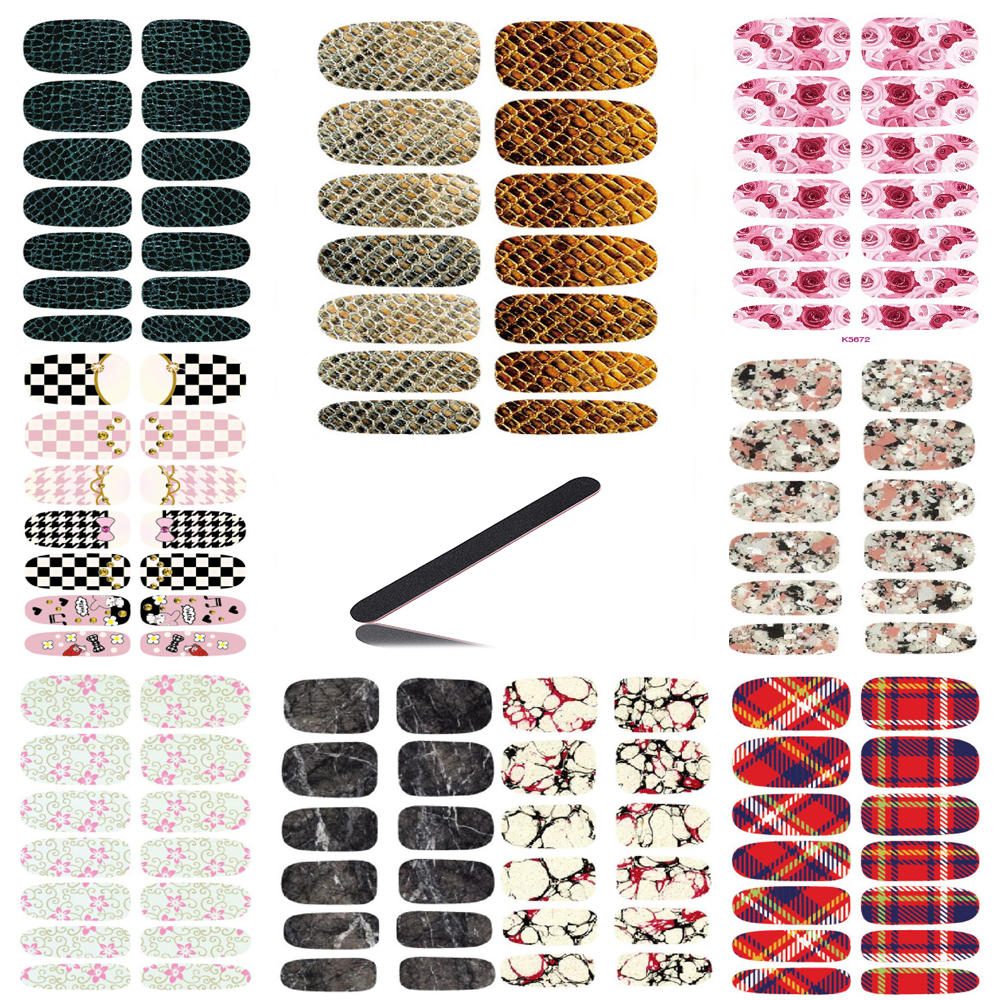 10pcs Vintage Water Transfer Nails Stickers 3D Design Serpentine Nails Art Decal Metal Gold Manicure Stickers Decals Wraps Cheap 3d content transfer