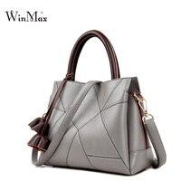Winmax Qualityed New Leather Handbag Large Bag Female Fashion Mom Classic Large Capacity Women S Handbag