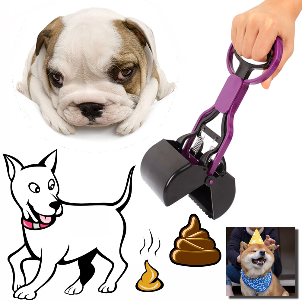 Portable Long Handle Pet Dog and Cat Shit Scooper Pet Dog Waste Bag ...