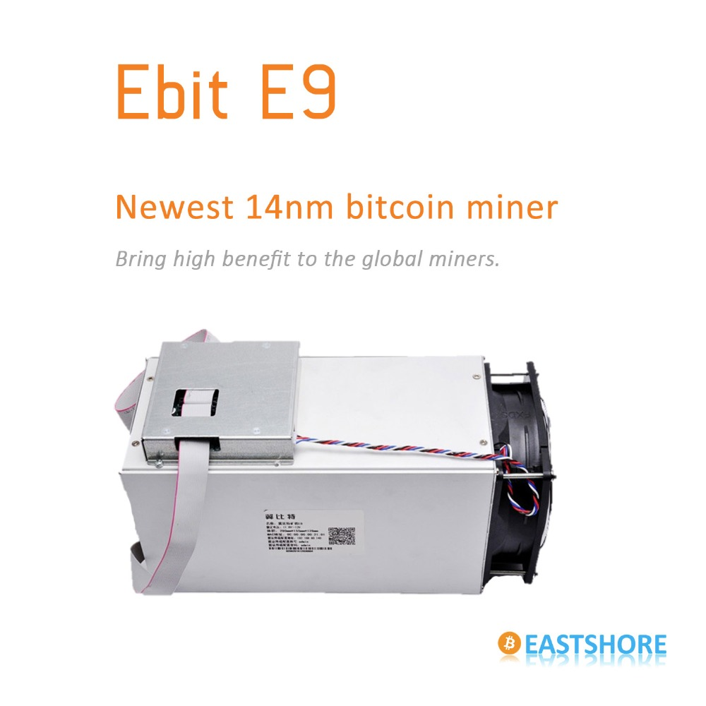 [SOLD OUT] Bitcoin Miner Ebit E9 6.3TH Asic Miner Newest 14nm Btc Miner Better Than Antminer S7