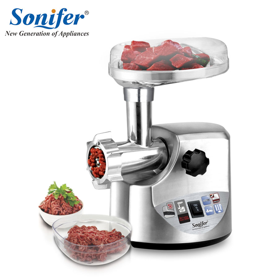 3000W high power stainless steel Home Electric Meat Grinder Sausage Stuffer Mincer Heavy Duty Household Mincer Sonifer дырокол deli heavy duty e0130
