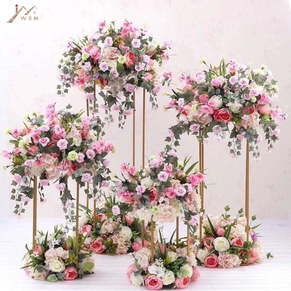 Aliexpress.com : Buy 4PCS Floor Vases Flowers Vase Column