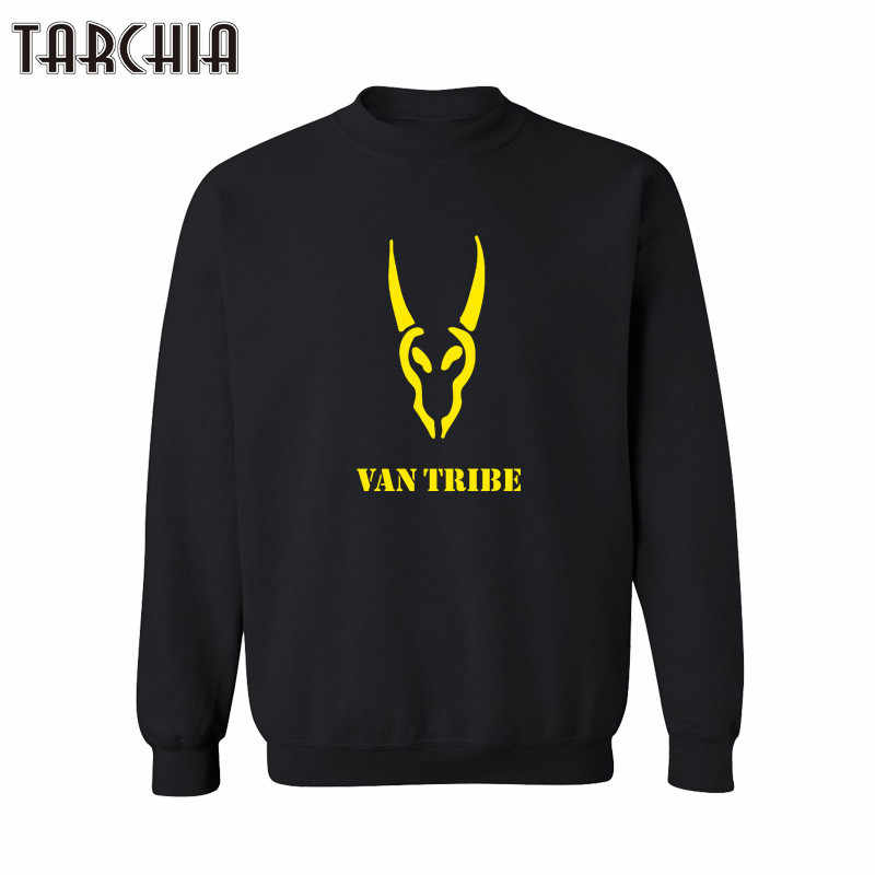 Tarchia Ван племени печати Hombre хип-хоп Для мужчин Harajuku Уличная Скейтборд Толстовка 2018 хип-хоп пуловер Спортивная Топы корректирующие