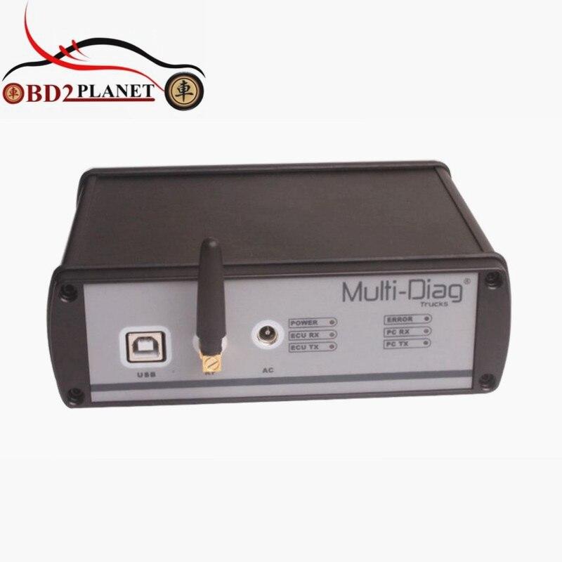 V2011C A ÉTÉ Multi-diag Livraison Reactivatio Camion Heavy Duty Outil De Diagnostic avec Bluetooth Pour Mercedes/IVECO/HOMME/DAF/VOLVO/RENAULT