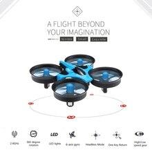 Оригинал h36 мини drone jjrc 6 оси rc микро quadcopters с безголовый режим одним из ключевых возвращения helicopter toys
