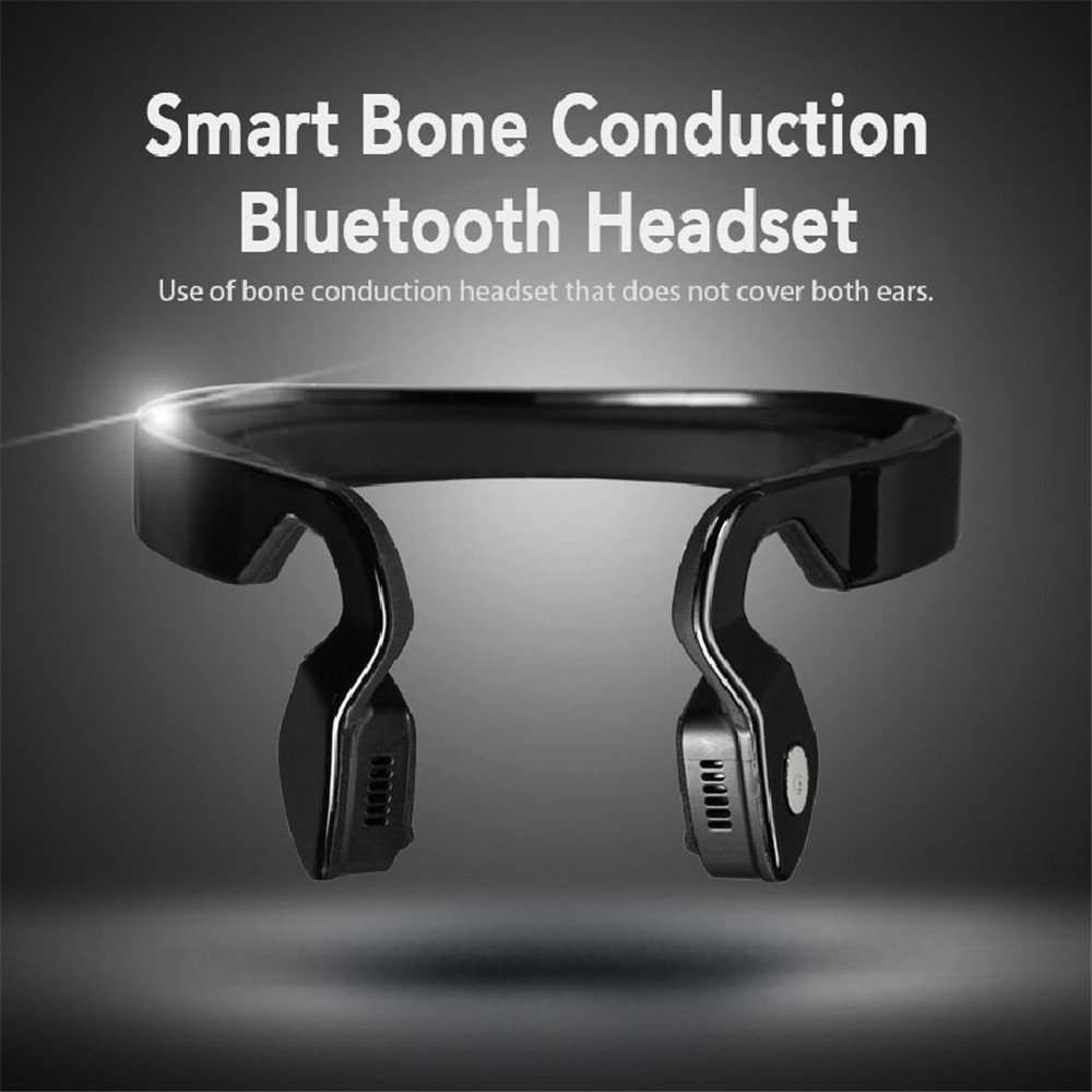 S.Wear Bone Conduction HIFI Bluetooth Headphones Professional Wireless Outdoor Sport Hea ...