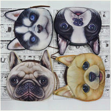 Coin Purses Women Purse for Coins Children's Wallet Kids Wallets Dogs Fashion Small Bag Mujer Monedas Carteira(China)