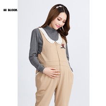 High Quality Maternity Clothing Pregnancy Clothes Suspender Trousers Belly Band&Support Overalls Pants&Capri for Pregnancy Women