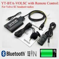 Yatour Bluetooth MP3 kit vivavoce chiamata di telefono BTA con Telecomando per Volvo SC headunit radio