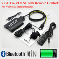 Yatour Bluetooth MP3 phone call hands free kit BTA with Remote Control for Volvo SC headunit radios
