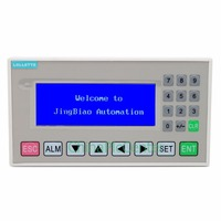 Text Display MD204L OP320 A Panel Display Screen HMI With RS232 RS422 RS485 For Various PLC