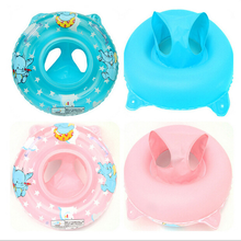 Portable Summer Baby Kids Cartoon Safety Swimming Ring Inflatable Swim Float Water Fun Pool Toys Swim Ring Seat Boat Water Sport 1 pcs baby kids inflatable float seat swimming ring trainer safety aid pool water toy xr hot water safety life buoy