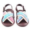 Nueva llegada cómoda niños y niñas de algodón zapatos de las sandalias 0 - 12 M