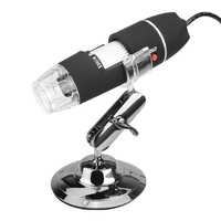 High Quality USB 8 LED 50X-500X 2MP Digital Camcorder Microscope Endoscope Magnifier Video Camera Multifunction with Stand