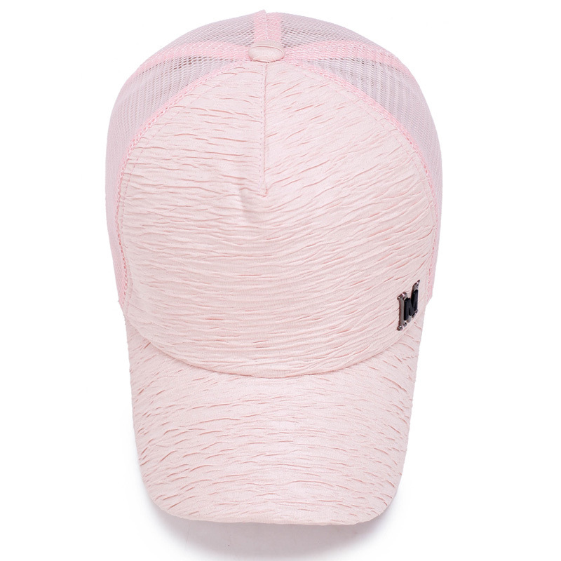 Rancyword 2017 New Fashion Baseball Caps For Women Summer Mesh Cap Hats Adjustable Bone Solid Color Hip Hop Hat Lady RC1180 in Women 39 s Baseball Caps from Apparel Accessories
