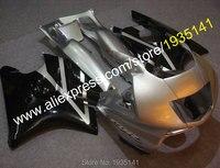 מכירות חמות , עבור הונדה cbr600f3 1997 1998 cbr 600 f3 97 98 cbr 600f3 שחור כסף אישית חרטום אופנוע ( הזרקה )