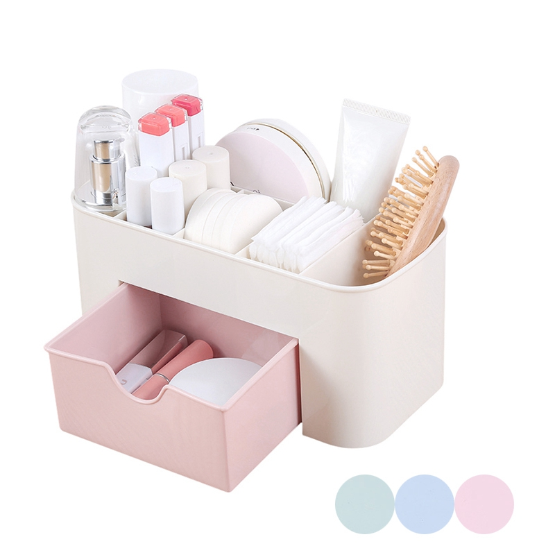 Makeup Organizers Box Desktop Storage Cosmetic Box Holder Lipstick Cases Sundries Case Small Objects Box Desktop Organizer