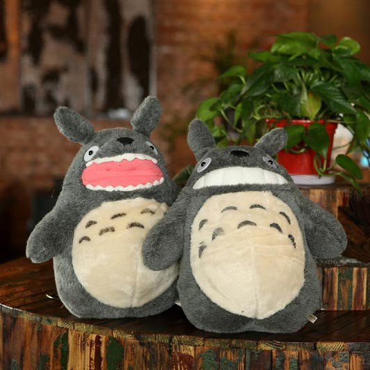 2017 Kawaii My Neightor Totoro Stuffed Toys Anime Totoro Plush Doll Toys for Children 38cm стоимость