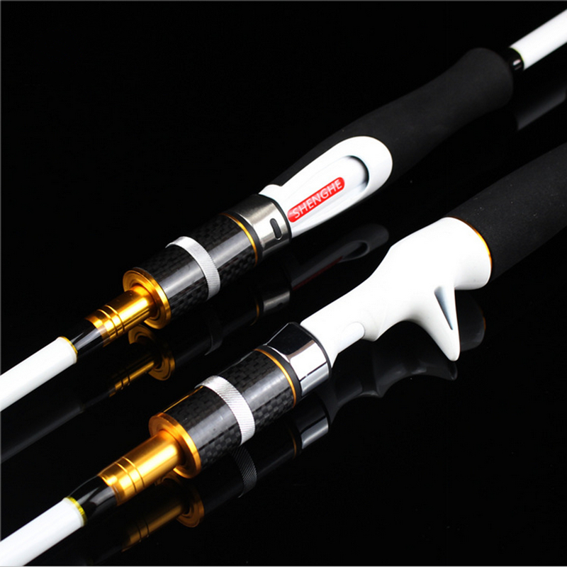 High Quality 2 Tips M/MH Power 2.1M Carbon Casting Spinning Lure Fishing Rod china Fishing Tackle Free shipping чехол для iphone 6 глянцевый printio сад на улице корто сад на монмартре ренуар