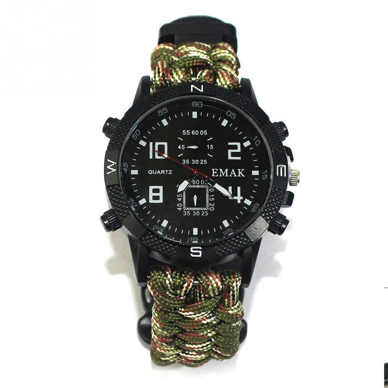 aeProduct.getSubject()  EDC Tactical multi Outside Tenting survival bracelet watch compass Rescue Rope paracord gear Instruments package HTB15rB1FKySBuNjy1zdxh4PxFXaw
