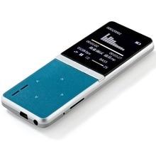 2017 nueva onn w7 deportes altavoz mp3 reproductor de música con rápido Grabadora de voz 8 GB 1.8 Pulgadas de Pantalla 50 h sin pérdidas de alta calidad Subwoofer