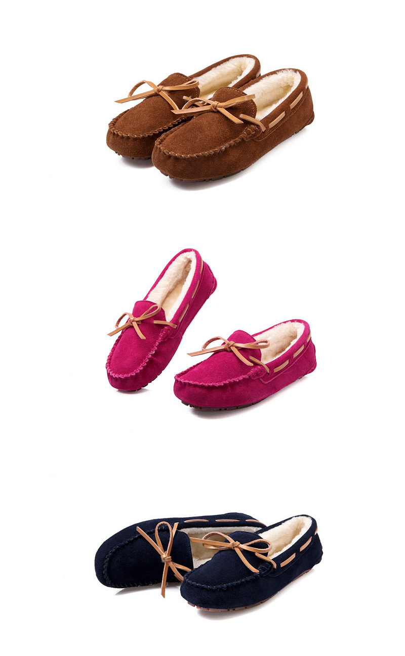 HX 1101-1 & 1108 (17) Plush Winter Warm Shoes Woman