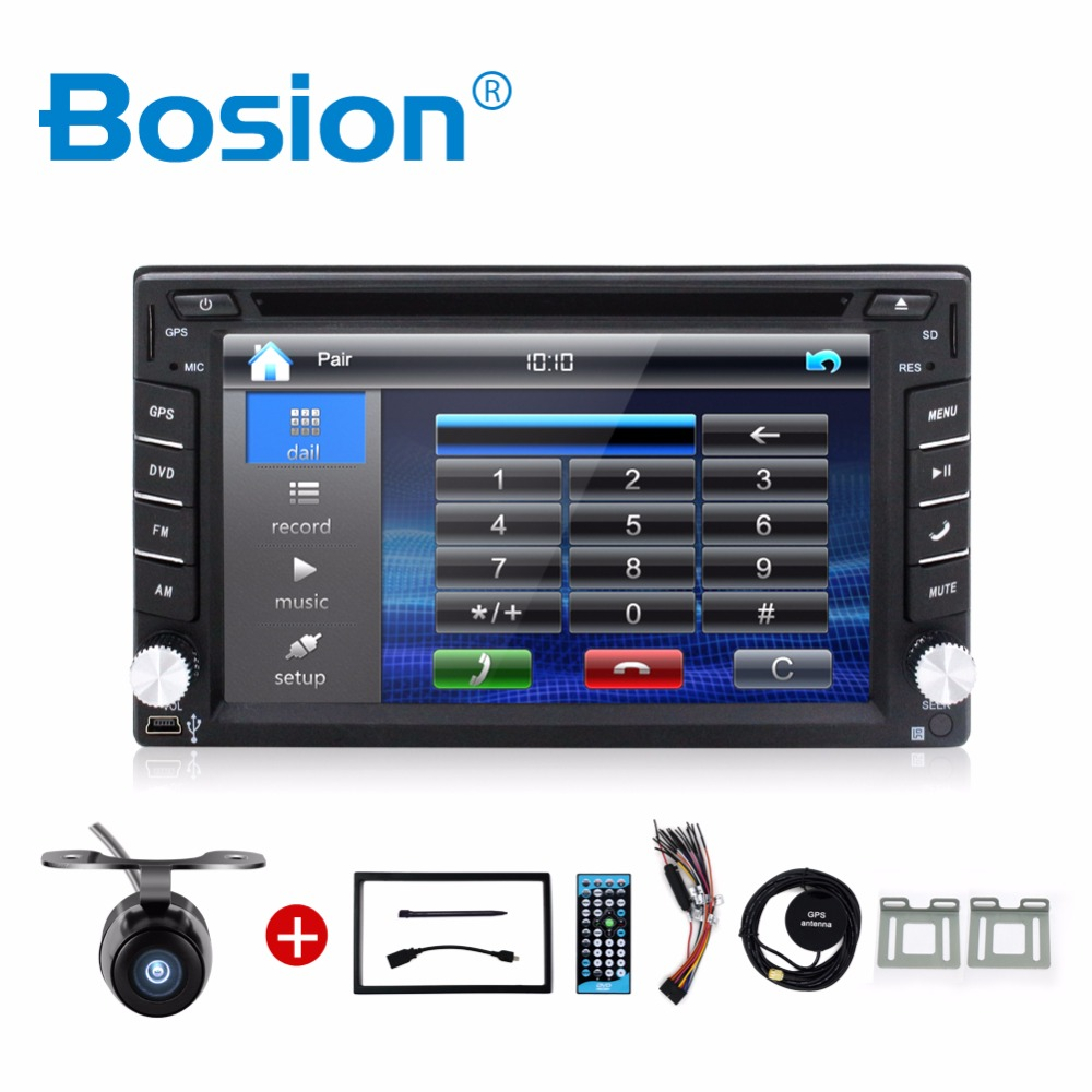 Car Electronic 2din car dvd player GPS Radio Tuner PC