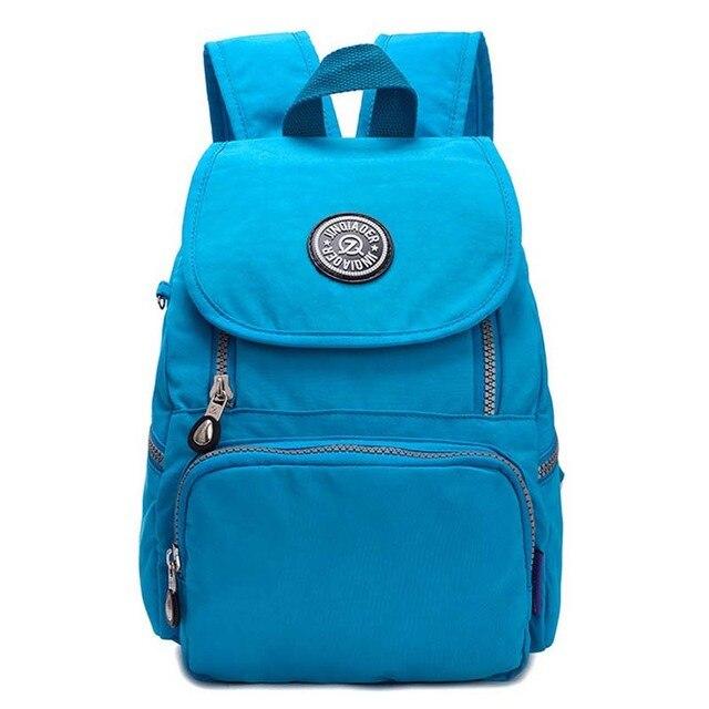 428b38508f87 16 Colors Waterproof nylon Vintage Rucksack Printing Women Backpack Mujer Mochila  Feminina School Bag Sac a