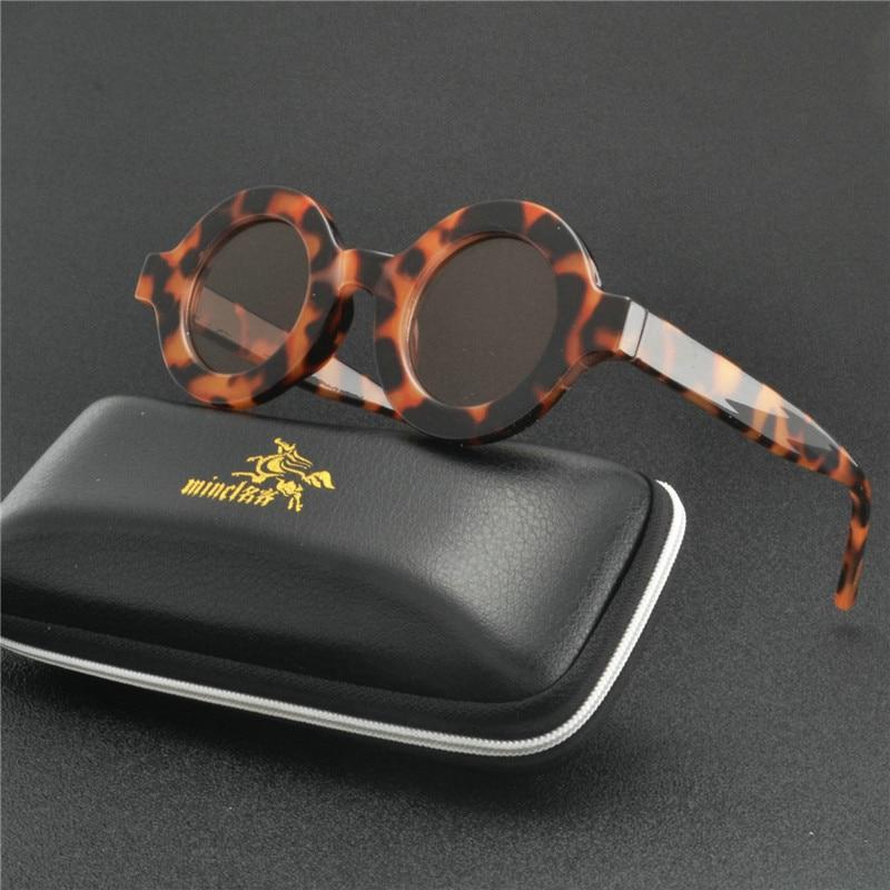 2019 винтажные Круглые Солнцезащитные очки женские брендовые дизайнерские солнцезащитные очки женские модные очки ретро маленькие круглые очки UV400 FML